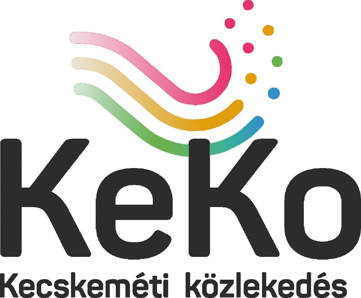 Kecskeméti közlekedés szürke logo